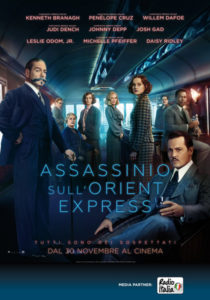 Assassinio sull'Orient Express di Kennet Branagh
