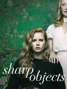 Locandina di Sharp Objects miniserie Sky Atlantic